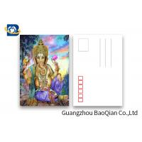 Souvenirs Custom Lenticular Postcards 5D Effect Two Sides CMYK Printing Manufactures