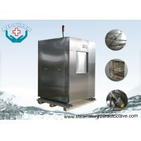 Buy cheap Laboratory Research Double Door Veterinary Autoclave With Pre Vacuum Function from wholesalers