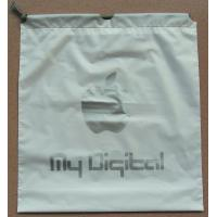 EVA Transparent White LDPE Frosted Small Plastic Drawstring Bags Manufactures