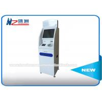 Wireless Connection Coin Counting Information Kiosk , Coin Counter Machine Locations Manufactures
