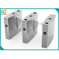 Electrical Flap Barrier Gate / Automation Subway Turnstyle Rfid Door Entry System Manufactures