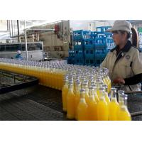 Quality Automatic Fruit Processing Line , Plastic Bottle Hot Filling Machine for sale