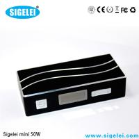 China 7W - 50W Sigelei 50 Watts Variable Voltage E Cig 0.2 - 3.0 OHM Resistance on sale