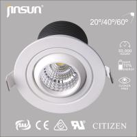 UPSCALE 7w white housing LED light used in high-end places Manufactures