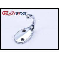 Chrome Plated Cloth Hanging Hooks Solid Cap Holder Durable Home Furniture Hardwares  Fittings Manufactures