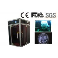 Air Cooling 3D Crystal Laser Engraving Machine Plus 3D Camera for Portrait Manufactures