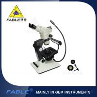 Generation 6th Swing arm type Gem Microscope F06 F08 Trinocular lens Manufactures