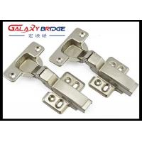 Stainless Steel Furniture Fittings Hardware , Soft Close Half Overlay Cabinet Hinges Manufactures