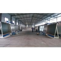 Large Capacity Vertical Glass Washing Machine With Plc Control System Manufactures