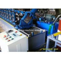 Adjustable Steel Frame Roll Forming Machine 22 Stations With 45 Degree Cutter Manufactures