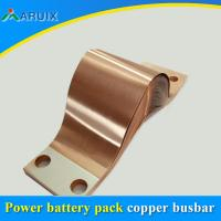 High power transformer copper braids flexible connectors, copper earthing ground wire connector Manufactures