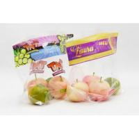 Clear Transparent Fresh Fruit Bags Breathable Laminated Plastic Gloosy / Matte Surface Manufactures