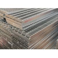 Galvanized Bar Grating / Steel Driveway Grates Grating Excellent Bearing Capacity Manufactures