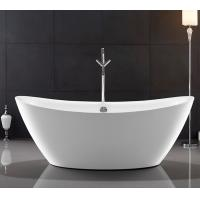 China Traditional Large Oval Freestanding Tub Deep Soaking With Gloss Surface YX-723 on sale