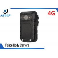 LTE 3G / 4G WIFI Bluetooth Body Camera Recorder , Small Police Using Body Cameras Manufactures