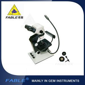 Parallel light desin Generation 6th Swing arm type Gem Microscope F07 binocular lens