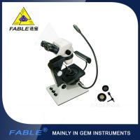 Parallel light desin Generation 6th Swing arm type Gem Microscope F07 binocular lens Manufactures