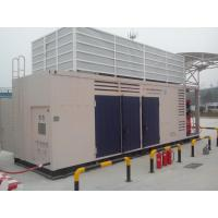 Quality full - Integrated 2 Stage Natural Gas Compressor CNG Fuel Stations 350V / 50Hz for sale