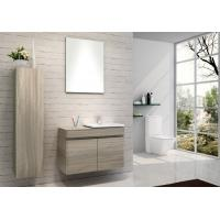 Buy cheap Hanging Bathroom vanity custom made grey Color Plywood board wall bathroom from wholesalers