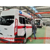 Quality 2017s high quality and low price FORD 4*2 LHD Transit gasoline Engine Ambulance for sale