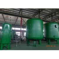 Silica Sand Filter Ro Pressure Water Purifier Tank In Suspended Solids And Turbidity Reduction Dia 600-3000 Mm Manufactures