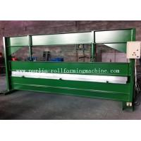 TY 4m Hydraulic Color Coated Steel Sheet Bending Cutting Machine PLC  Panasonic Manufactures