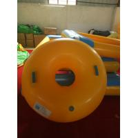 1 Meter In Diameter Yellow Inflatable Ski Sleigh For Adults And Children Snow Skiing Manufactures