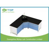 13 mm Trespa L Shape School Science Laboratory Furniture For Research Multi Use Manufactures