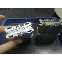 China Precision Complex Connector Cavity Mold Inserts Parts 2pcs in1.2344 Steel on sale