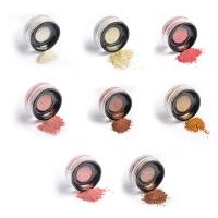 8 Colors Makeup Cheek Highlighter , Highly Pigmented Highlighter Loose Powder Manufactures