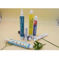 Printing Aluminum Squeeze Tubes For Cream / Gel Packaging 30ml Volume Manufactures
