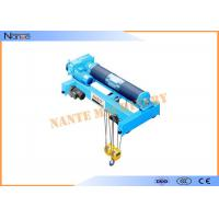 Low Headroom Electric Wire Rope Monorail Hoist Workstation Steel Manufactures