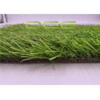 Weather Resistance Artificial Grass Garden with PP + NET + SBR GLUE Backing Manufactures