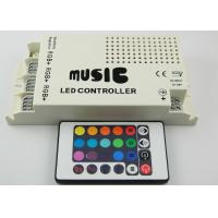 Three Circuit  DC5V - 24V RGB LED Lighting Controller , LED Light Music Controllers Manufactures