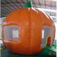 Round orange Inflatable Outdoor Yard Party Tent For Trading Show Manufactures