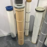 PPS high temperature pleated filter cartridge DN 152x 2000mm height Manufactures