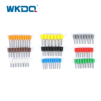 VE1508 1.5mm²  Ferrule Wire Connectors For Soft Cable Copper Connector Manufactures