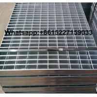 Hot dip galvanized trench drain steel grating Manufactures