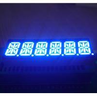 0.39 Inch 6 Digit 14 Segment Display Common Cathode Ultra Blue Process Control Applied Manufactures