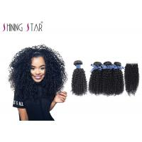 Soft Malaysian Curly Weave Bundles , Remy 4 Bundles Of Malaysian Curly Hair Manufactures