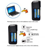 emergency cell phone battery charger with LED flashlight Manufactures