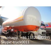 factory direct sale 2 axles 17ton lpg gas tank semitrailer, 17MT ASME standard cooking gas tank semitrailer for sale Manufactures