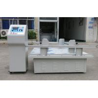 Package transport simulation Vibration Test equipment for Carton CE Computer Control Manufactures