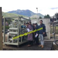 hot sale Transformer Oil Purifier Plant, Dielectric Oil Filtration Ssytem Manufactures