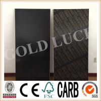 Qingdao Gold Luck 1220x2440mm Poplar Core Black Film Faced Plywood Manufactures