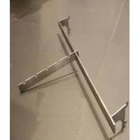 Customized Metal Hanging Bar Shop Display Hooks  300 - 350MM For Clothing Shop Manufactures