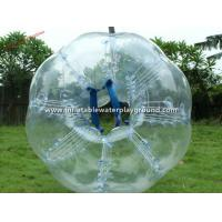 Quality Giant Human Sized Inflatable Bubble Ball , Body Bumper Bubble Ball On Water for sale