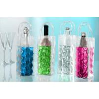Reusable Plastic Wine Bottle Cooler Bags For Wine / Beer Packing Manufactures