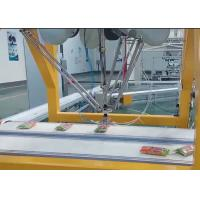 Quality Picking / Packing Industrial Delta Robot Arm With PLC Programmed Control for sale