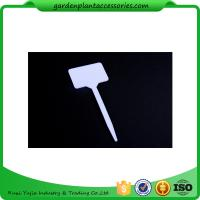 White Durable PP Plant Markers / Garden Plant Labels For Garden 13.7*5.5cm Garden Plant Marker Manufactures